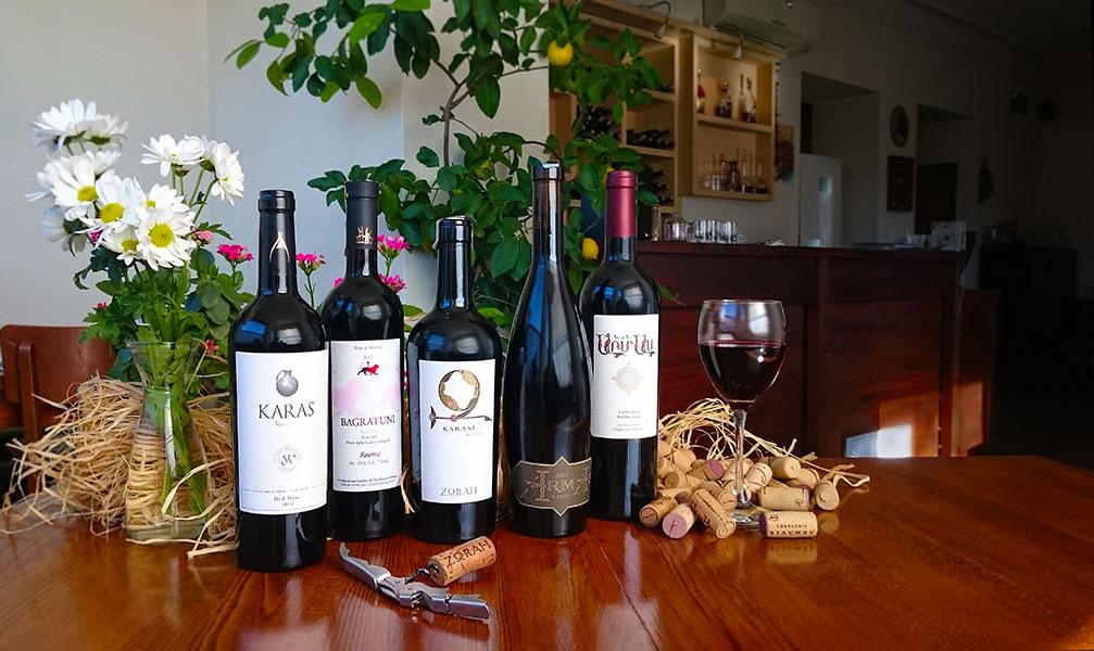Армянские вина в Charentsi 28